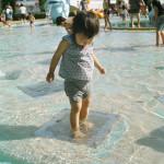 水をふむおもしろさに気がついてしまった!(2012.05)