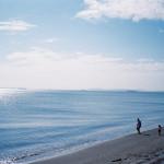 初夏の海(CONTAX T3にて)