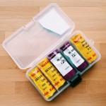 ブローニーフィルムケースはメイホウのナンシーケースM N-Mを使ってます