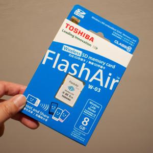 FlashAir購入しました