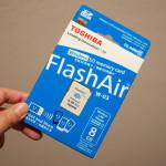 Wireless SDカードのFlashAirを買ってみました!