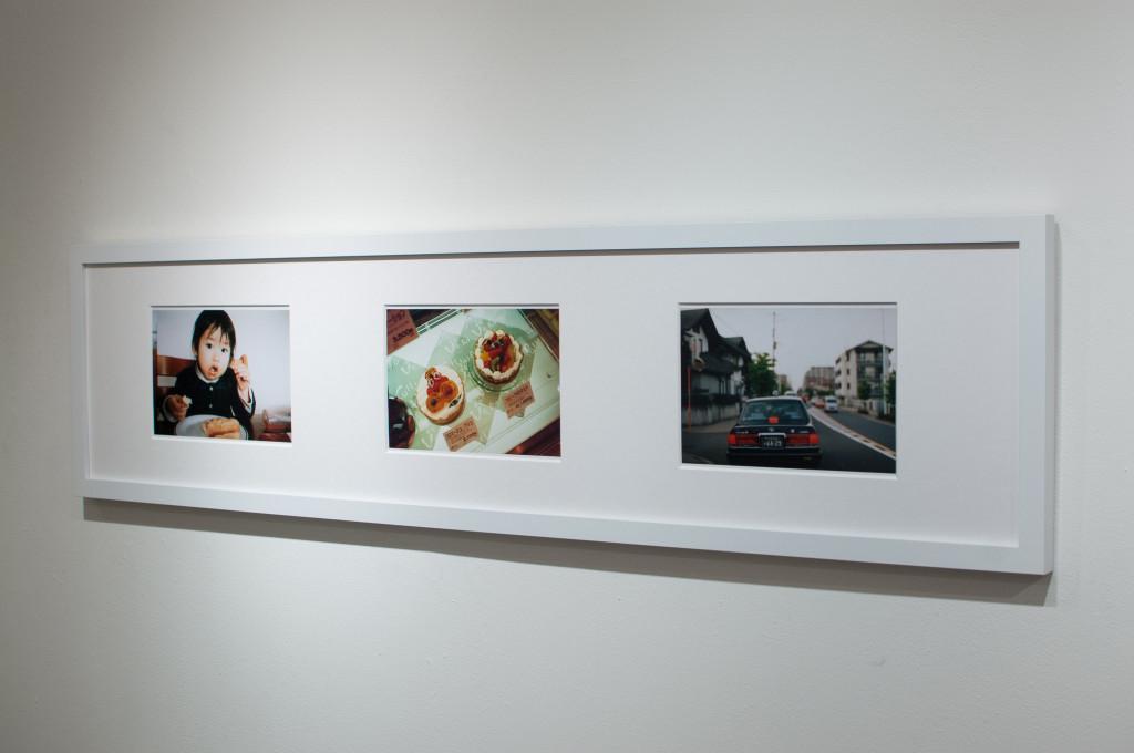 神田さやか写真展「あかねさす」入り口2